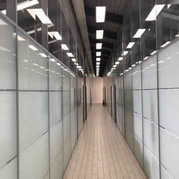 Послестроительная уборка офиса 900 кв.м. (г. Москва, метро Спортивная)