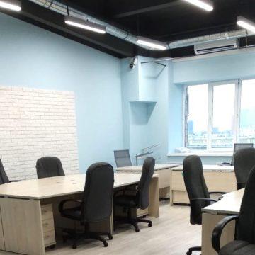 Уборка после ремонта офисного помещения площадью 950 кв.м., г. Москва, ул. Ямского Поля