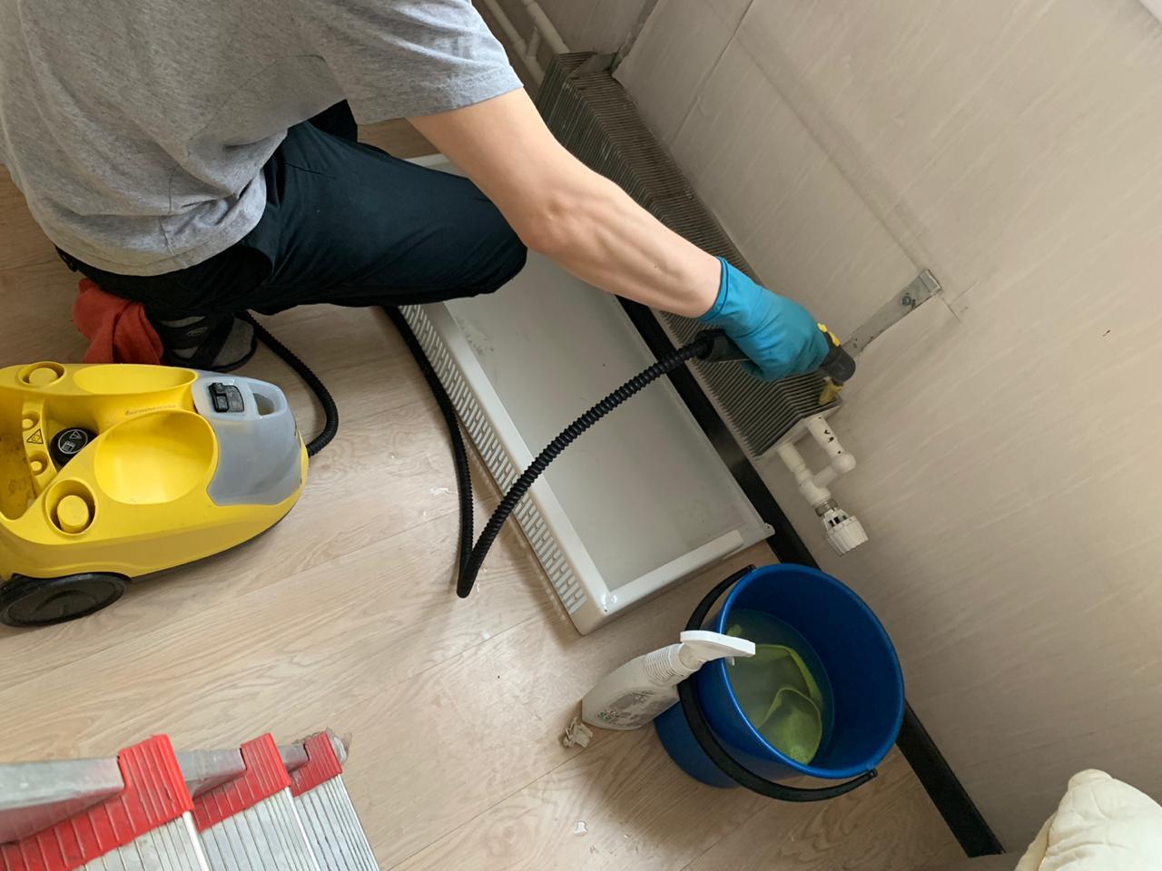 Генеральная уборка квартиры фонда Созидание